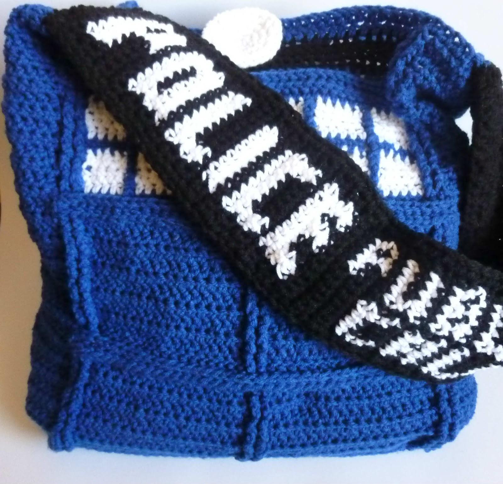 Free Crochet Pattern Tardis Hat : Crochet Dynamite: Tardis Bag Strap