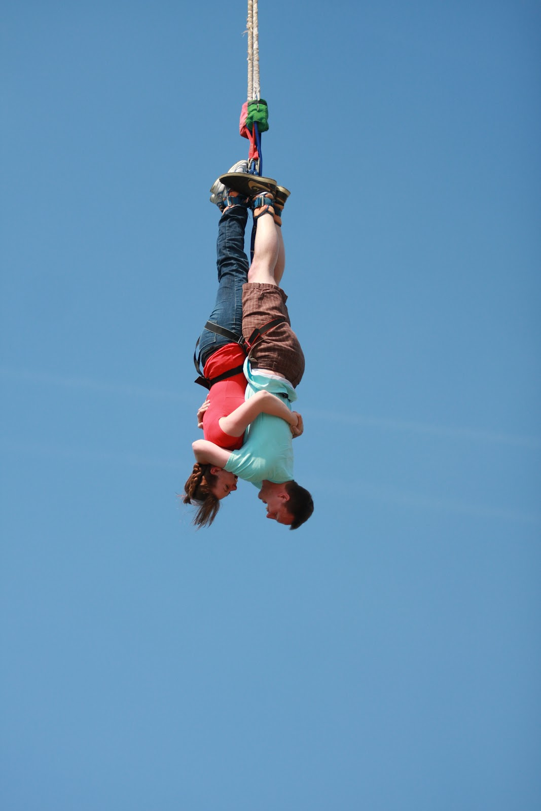 the lentzes bungee jumping