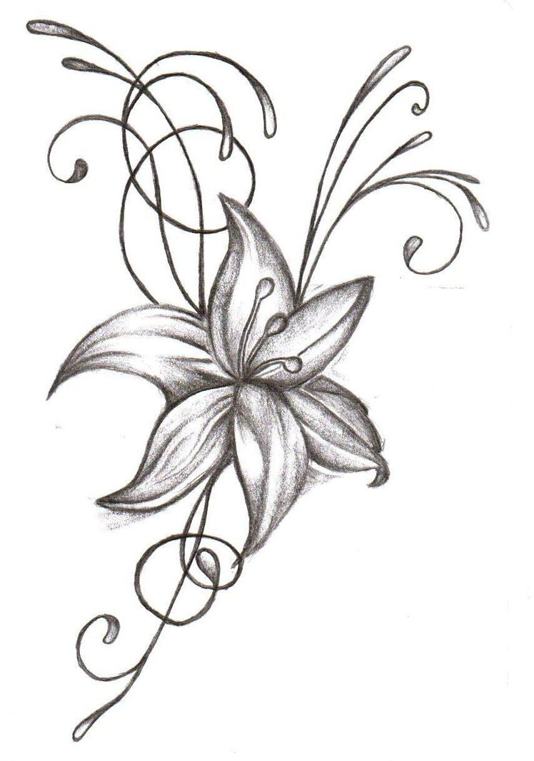 flower tattoos popular designs