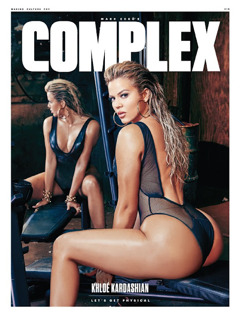 Khloe Kardashian - Photoshoot for Complex Magazine August/September 2015