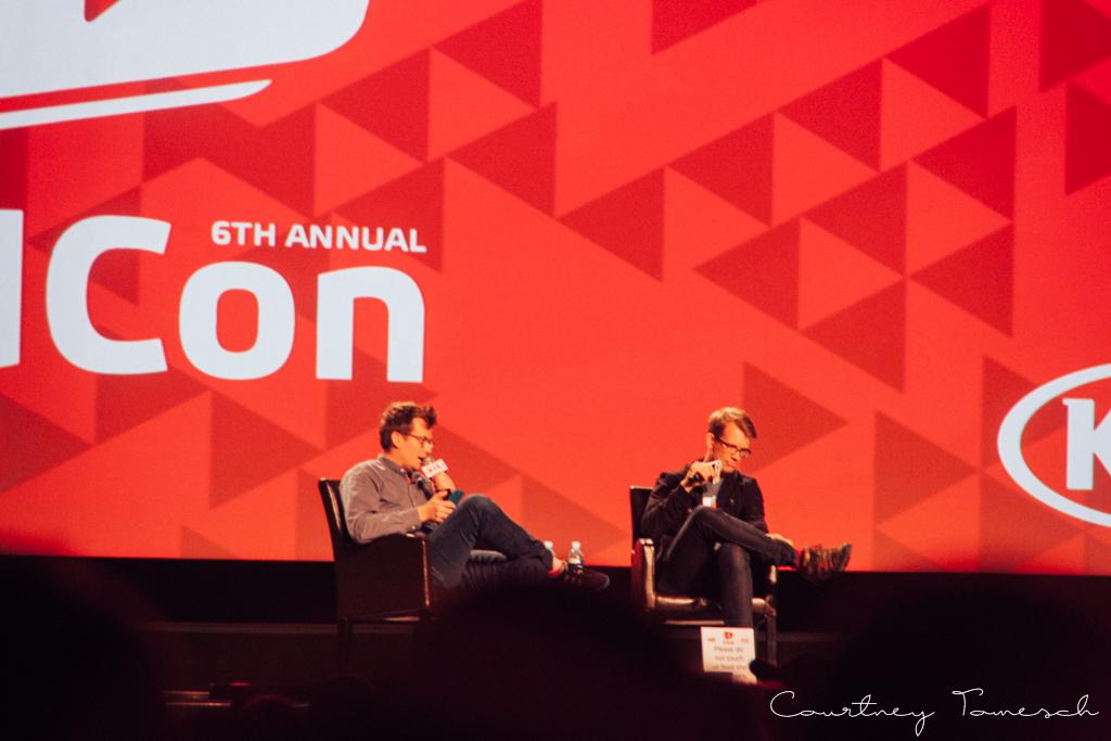VidCon 2015 Hank Green John Green