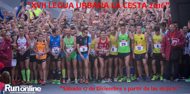 "XVII LEGUA URBANA ""LA CESTA 2016"""