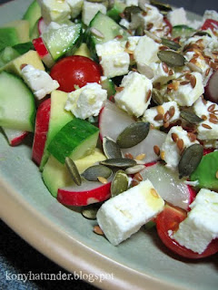 feta-avocado-salad