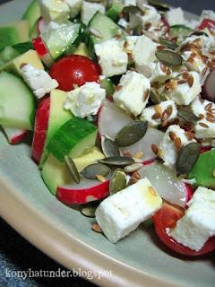 feta-avocado-salad