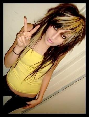 medium length emo hair. emo hairstyles how to