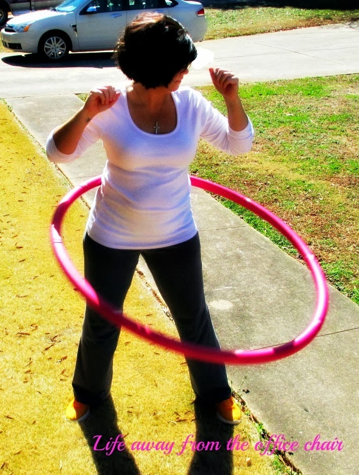 Hooping by Life Away From The Office Chair