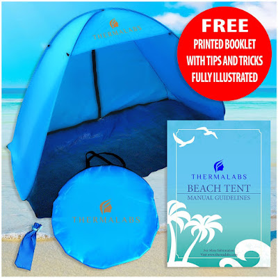 Beach Tent The Coolest Instant Pop Up Sports Tent #thermalabs