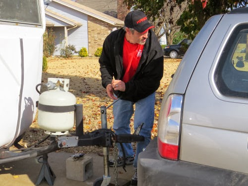 hitching trailer