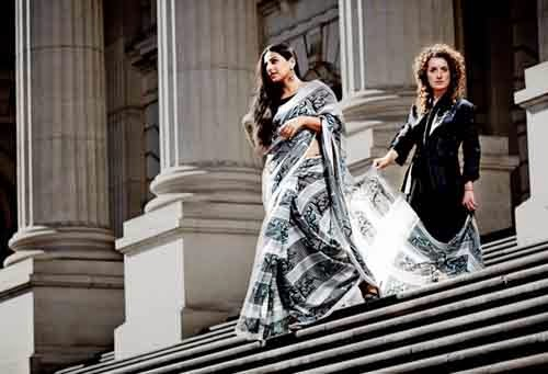 Vidya Balan's New Hot Photo Shoot with Australian Designers