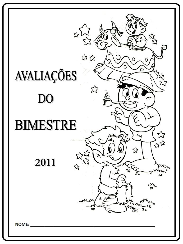 Capa De Prova Folclore