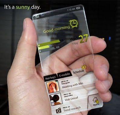 Ponsel Transparan