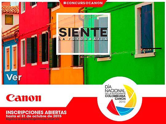 Concurso. Siente la fotografía con Canon (Colombia)
