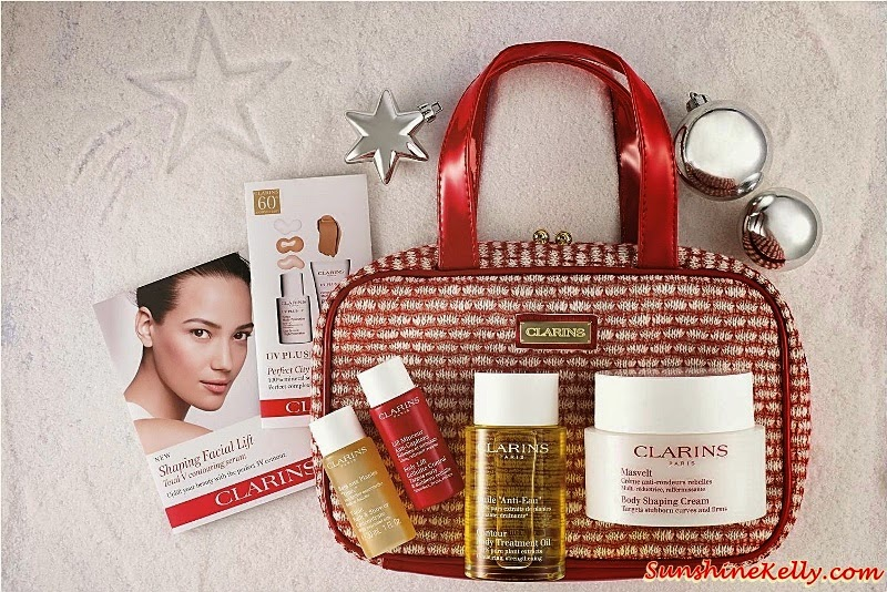 Clarins Body Shaping Experts Set, Clarins Christmas set, Clarins gift set, Clarins, Clarins malaysia, Gift Sets, Christmas Gift,