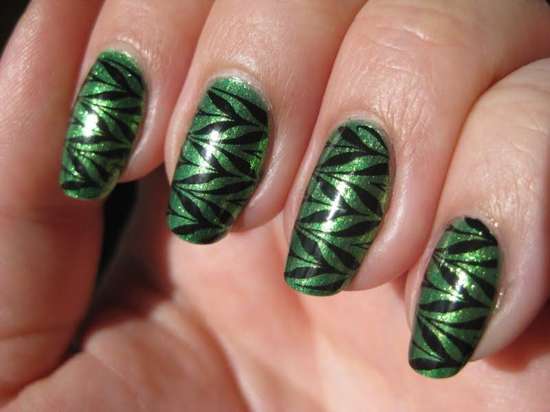 Green Nail Designs - Pccala
