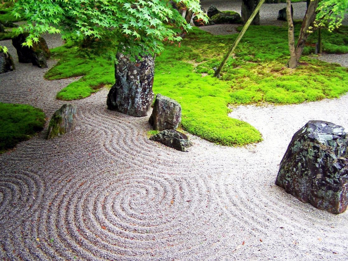 crie jardim id ias para jardins jardim zen. Black Bedroom Furniture Sets. Home Design Ideas