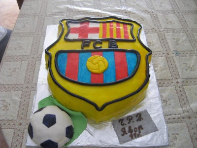 tarta FC Barcelona
