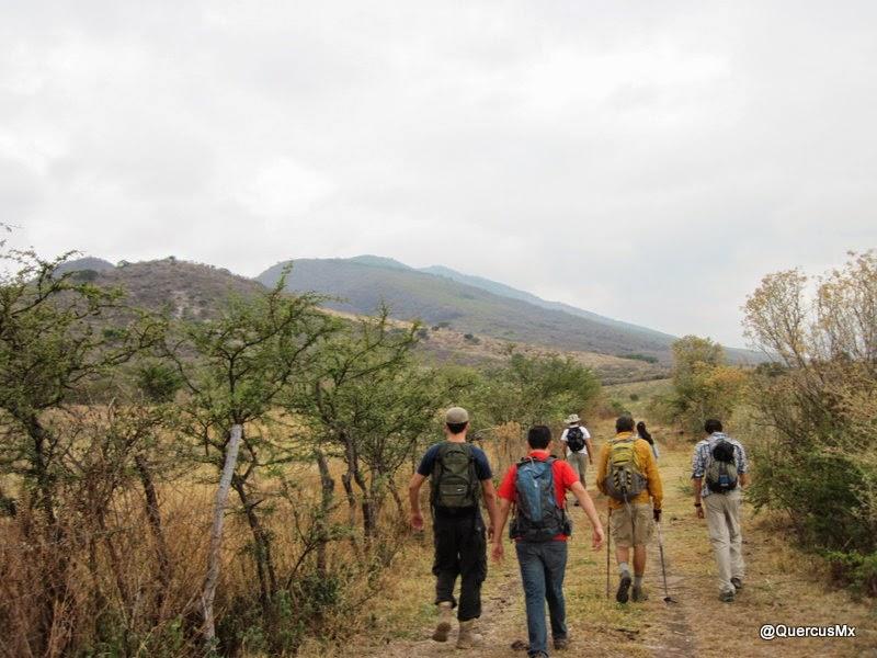 Acercándose a la Sierra del Tecuán