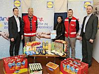 Lidlova donacija Gradskom društvu Crvenog Križa Brač Supetar slike otok Brač Online