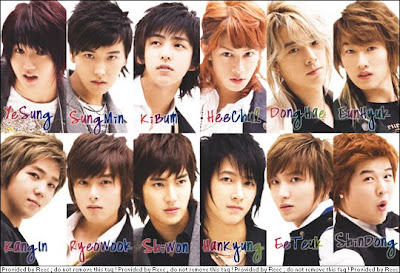 foto personil Super Junior