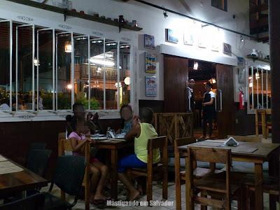 Di Pietra Pizzaria: Ambiente interno