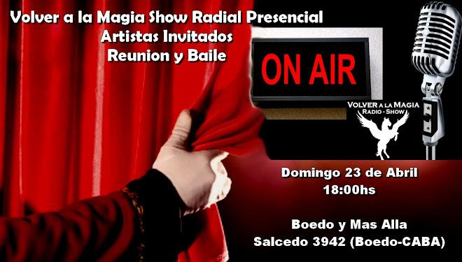 Evento: Show Radial Artistico y Baile Retro