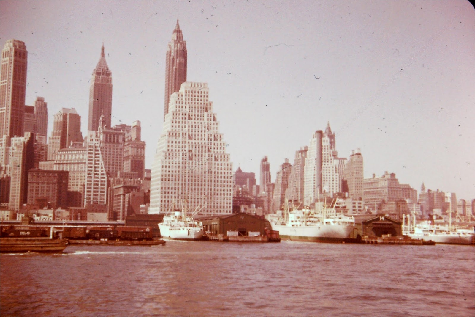 New York skyline - circa