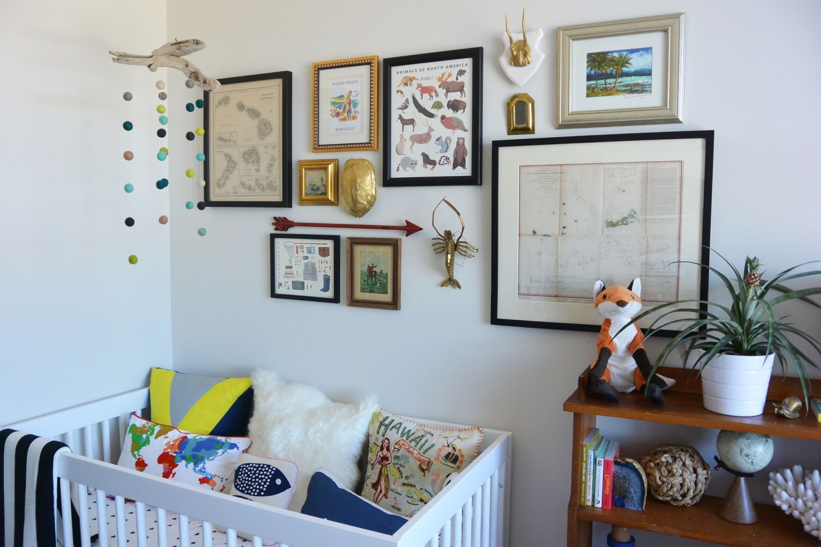 Used Look Möbel Diy ~ Life with a dash of whimsy: diy driftwood and felt ball mobile