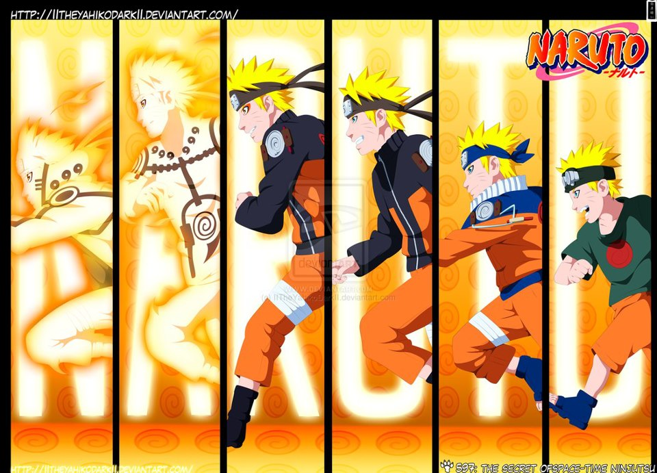 Naruto Shippuden The Movie 1 - 4 Sub Indo .3gp