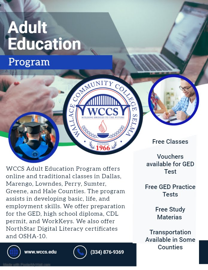 Wallace Community College Selma Adult Education Program