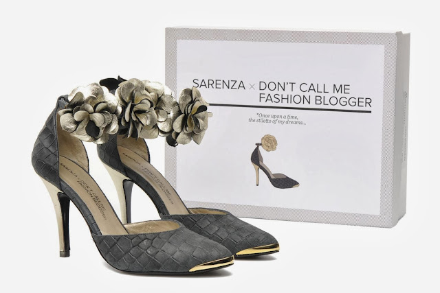 blogger designed heels for sarenza