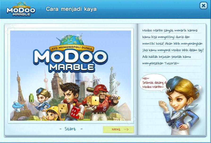Bermain Modoo Marble Monopoly Online