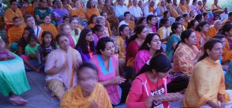 Intensive 2014 at Jagadguru Kripalu Ji Maharaj's ashram