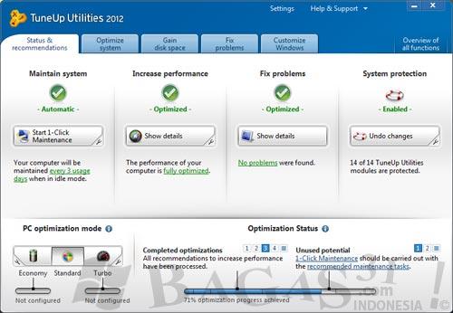 TuneUp Utilities 2012 Full Serial 2