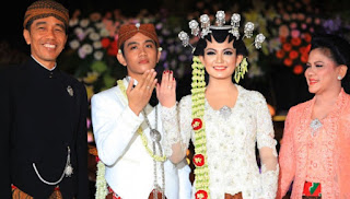 [Foto] Pernikahan Gibran Selvi Anak Sulung Jokowi 2015