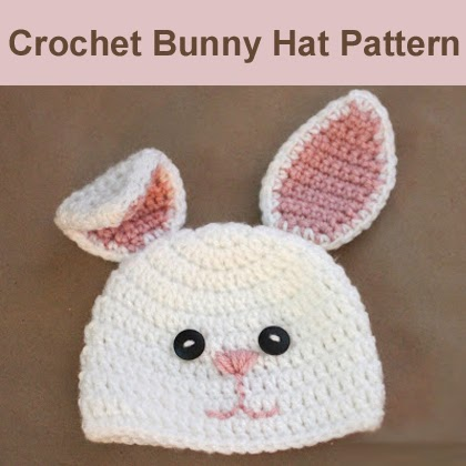 Crochet Bunny Hat Pattern