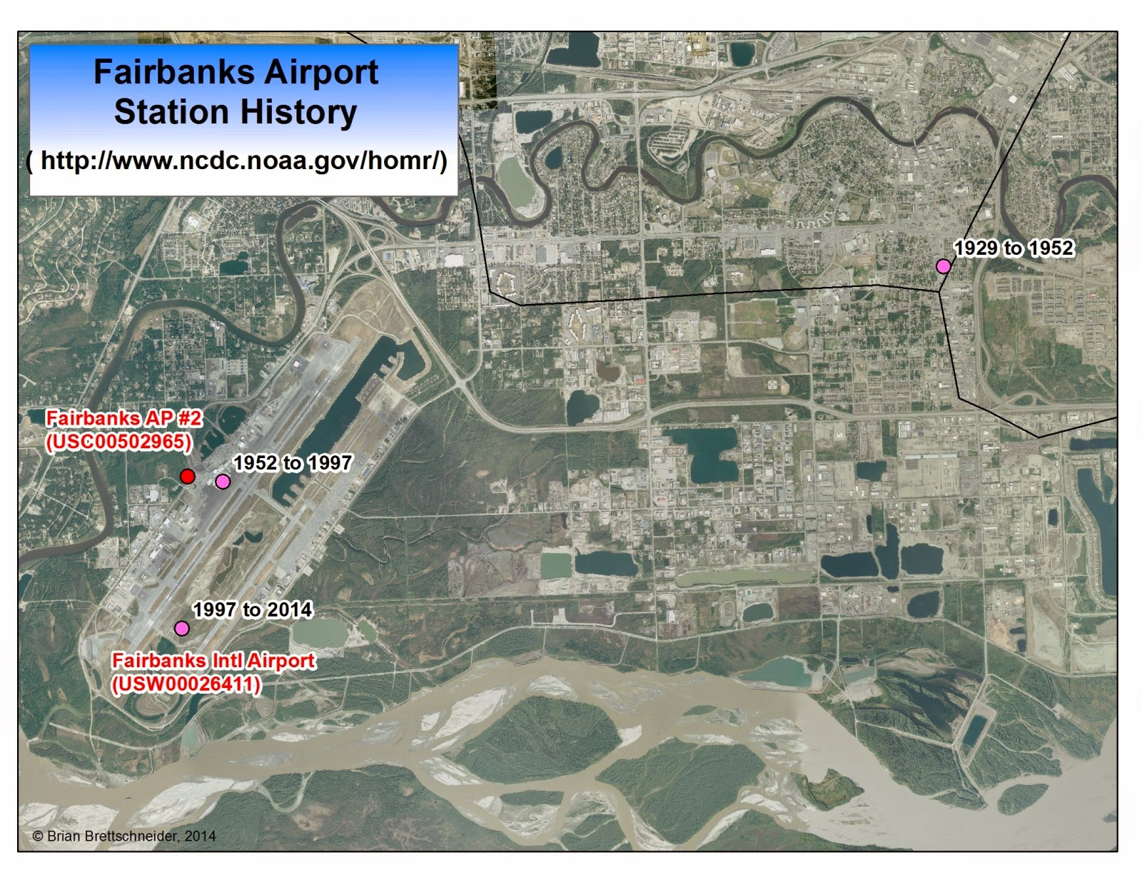 Deep Cold Interior And Northern Alaska Weather Climate Fairbanks Airport Temperatures