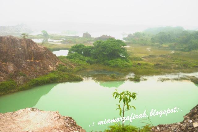 guar petai, bekas lombong, tempat cantik di guar petai, tempat cantik di pulau pinang, apa yang ada di guar petai, bukit katak