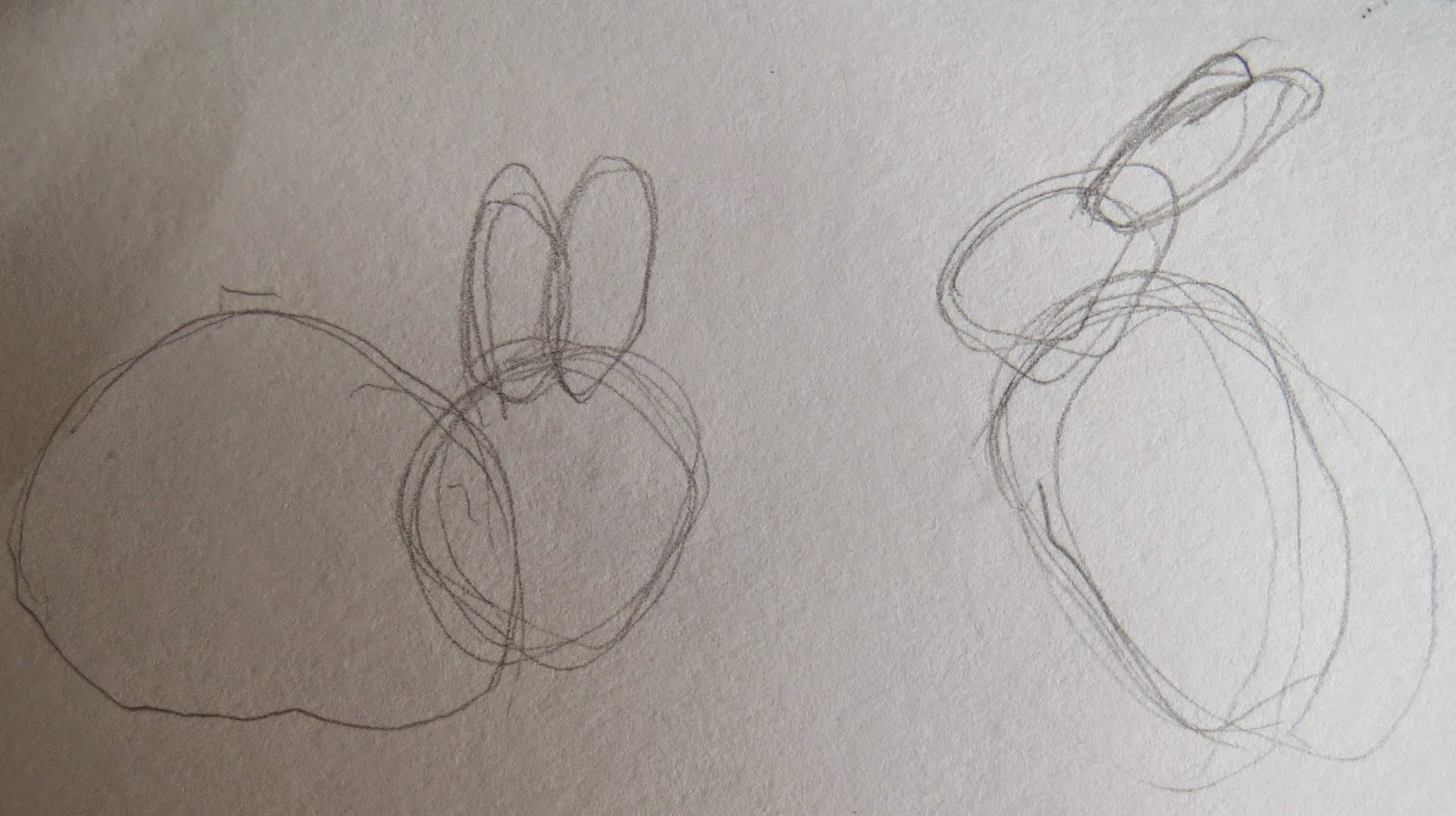 the autistic naturalist how to draw rabbits and hares easter
