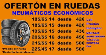 OFERTA NEUMÁTICOS ECONOMICOS