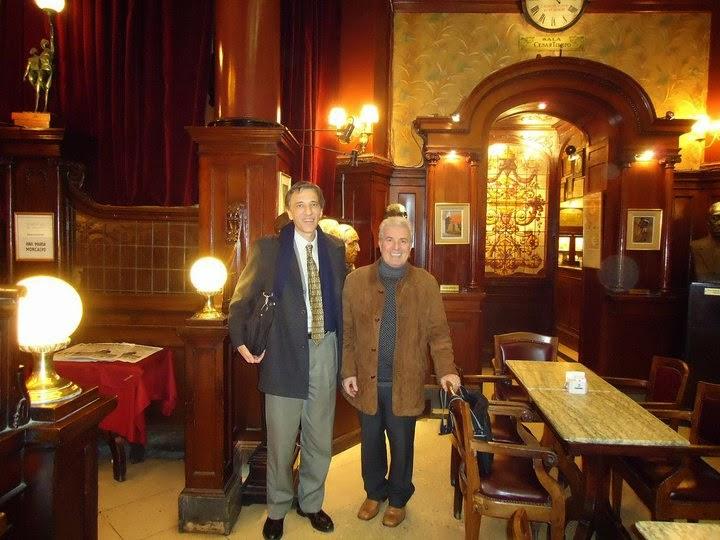 Con Orlando Barone