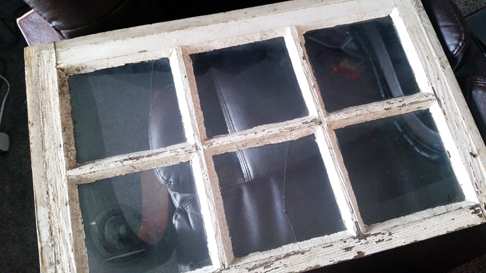 Up-Cycled Window Frame, Let the Sun Shine In! | a dogs life