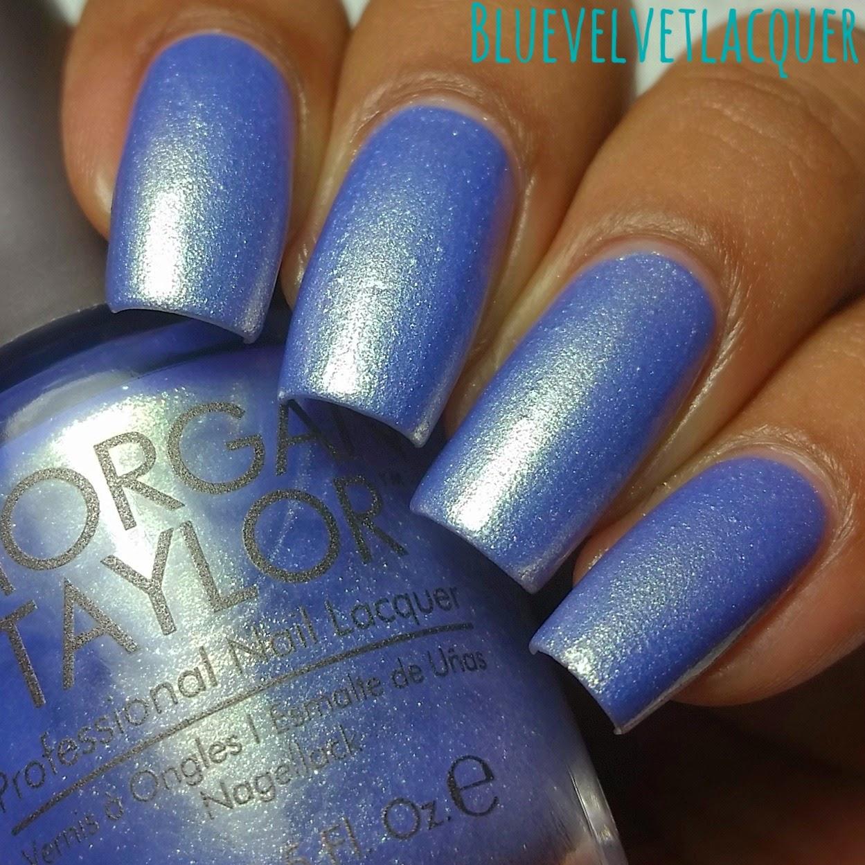 Blue Velvet Lacquer: Morgan Taylor Lacquer: The Cinderella Spring ...
