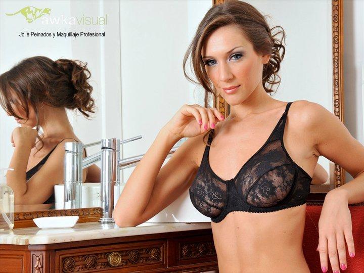 Jolié Peinados y Maquillajes para el Catalogo ropa Interior marca: PUK