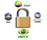 Globo HD, SBT HD, Band HD, Record HD Fechados C2