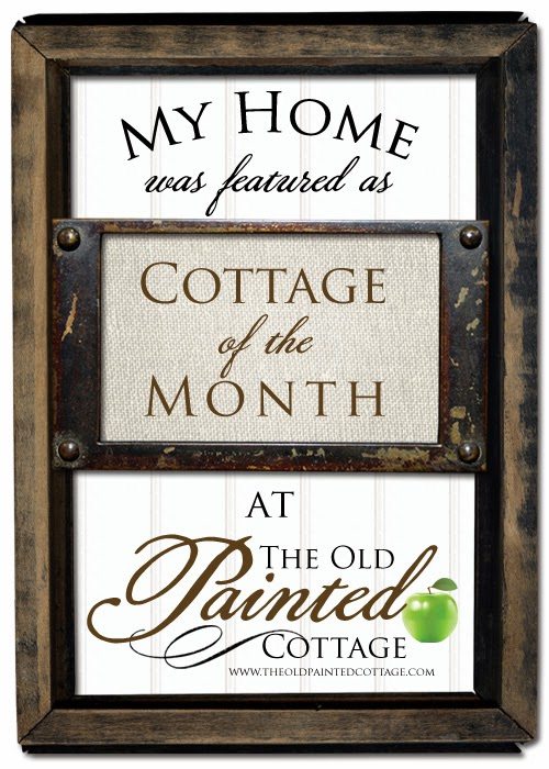 Featured at Cottage of the Month!