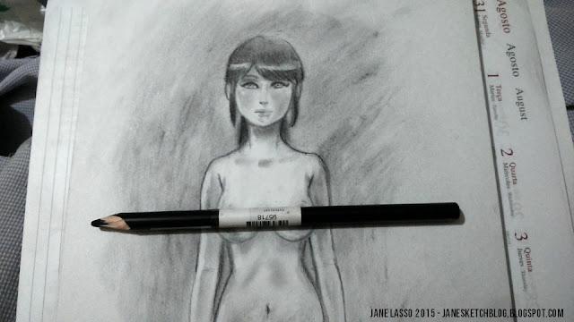 Dibujo en carboncillo