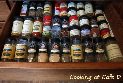 How to Organize Your Spice Drawer - Frugally