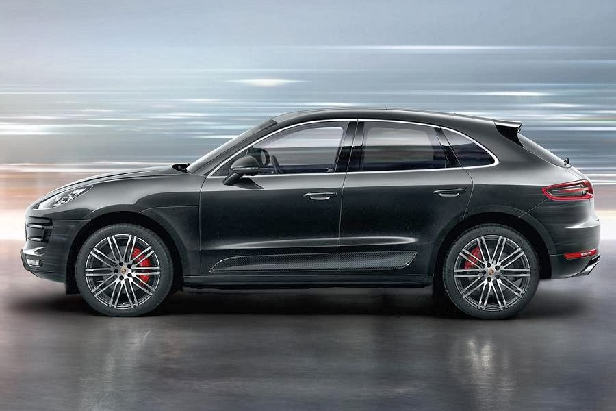 cayenne vs macan dimensions