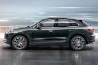 Porsche Macan Turbo (2014) Side