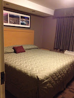 king size bed at hotel